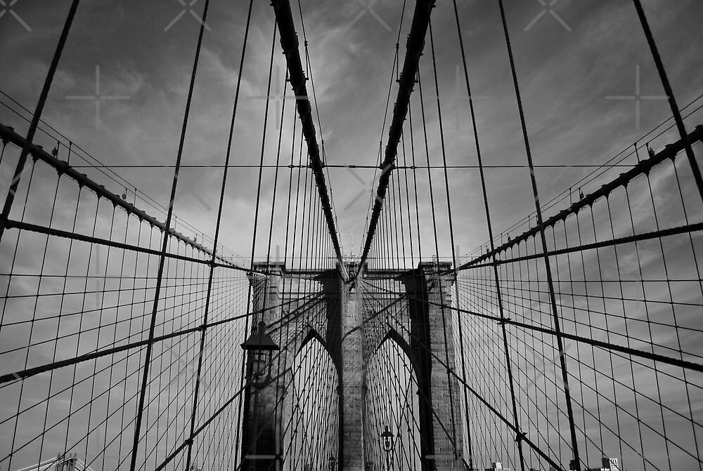 New York City, Brooklyn Bridge by thomasrichter