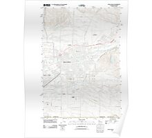 USGS Topo Map Washington Walla Walla 20110914 TM Poster