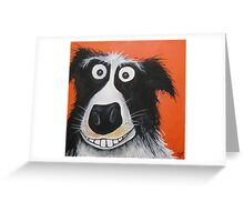 Mr Dog Greeting Card