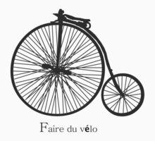 faire du vélo --- T-Shirt