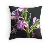 Fireweed Detail Throw Pillow