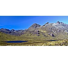 The Cullin Ridge, Isle of Skye Photographic Print