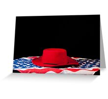 Proud to be an American  Greeting Card