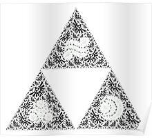 Goddess' Triforce Poster