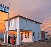 Amarillo by Morning - Route 66 Sunset by TheBlindHog