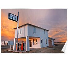 Amarillo by Morning - Route 66 Sunset Poster