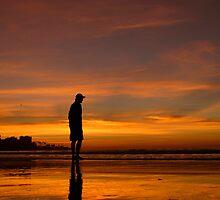 La Jolla Shores Sunset by peasap