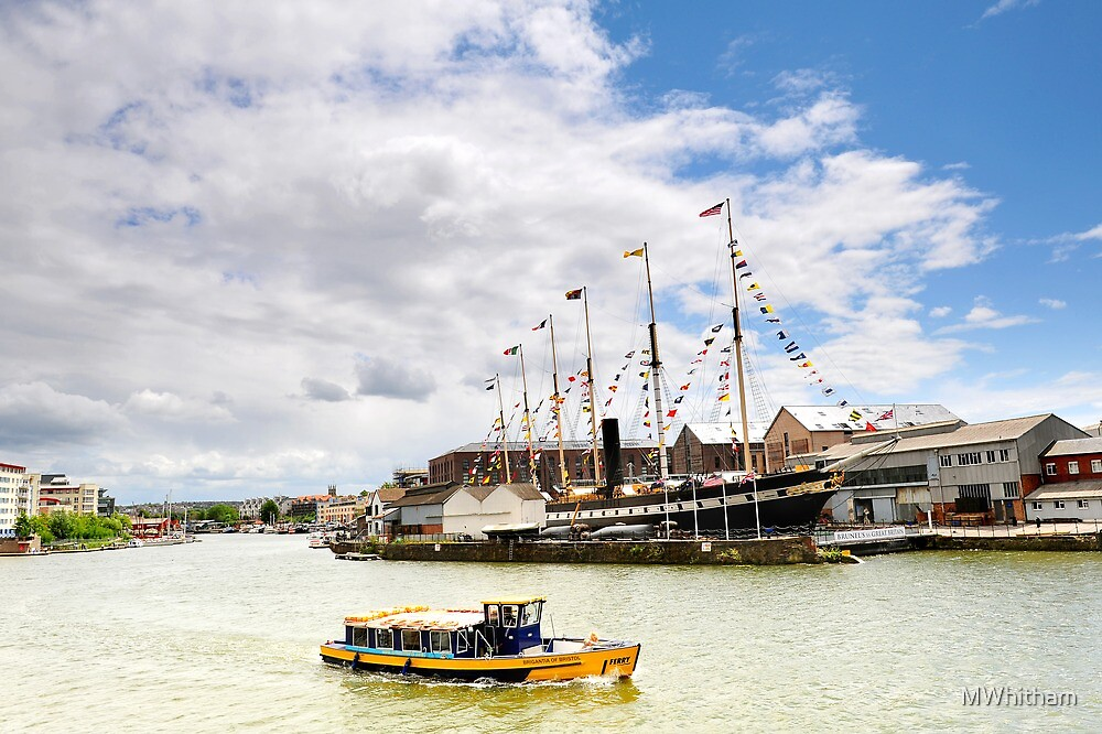 Brunel's ss Great Britain in Bristol docks by MWhitham