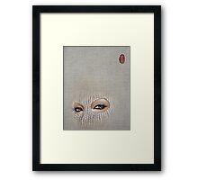 misfit-eraser Framed Print