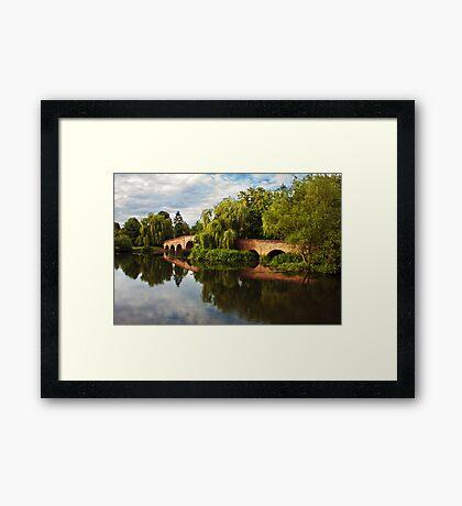 Brick bridge Framed Print