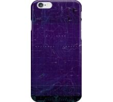 USGS Topo Map Oregon Pinhead Buttes 281099 1986 24000 Inverted iPhone Case/Skin