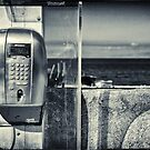 Telephone by the sea by Silvia Ganora