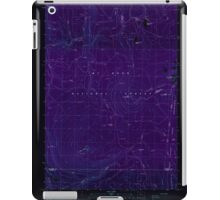 USGS Topo Map Oregon Pinhead Buttes 281099 1986 24000 Inverted iPad Case/Skin