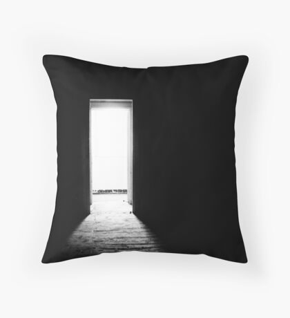 My door is always open Throw Pillow