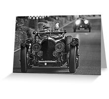 Racing Legens Greeting Card