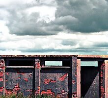 Pillbox at Culver Down, Bembridge, Isle of Wight by Grant Selby