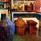 Medicine Bottles and Baskets by Susan Savad
