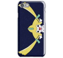 happy flying jirachi iPhone Case/Skin
