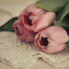 Vintage Tulips by Debbie-Stanger