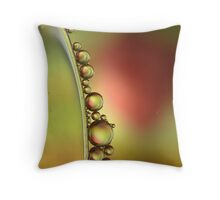 Oil and Water -Two Precious Resources  Throw Pillow