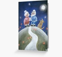 Not Yet Over The Hill Greeting Card