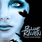 Blue Raven by Regina Wamba