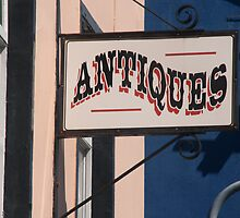 'Antiques' Shop Ulverston by Louise Green