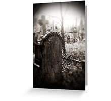 Gothic splendour 2 Greeting Card