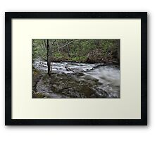 Cave Creek Framed Print
