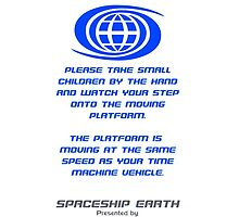 Spaceship Earth Boarding Narration  by Jacob Yates
