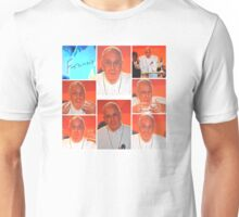 THE MANY FACES OF FRANCIS Unisex T-Shirt