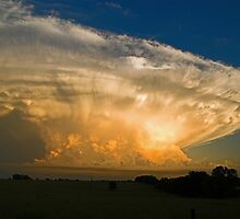 Tornadic Supercell by Herb Spickard