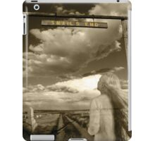 Trails End Ghostly Photo iPad Case/Skin