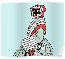 Masked Girl Poster