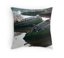 Bowling Wrecks Throw Pillow