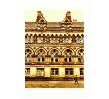 Bradford town hall Art Print