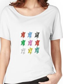 Nine Funky Kittens Women's Relaxed Fit T-Shirt