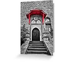 Front Door Greeting Card