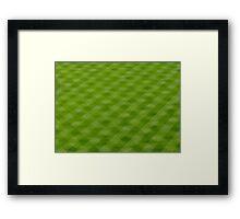 Inverted field  Framed Print