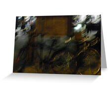 Bikes on Blake St Greeting Card