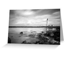 Moody Barns Ness Lighthouse Greeting Card