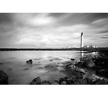 Moody Barns Ness Lighthouse Photographic Print