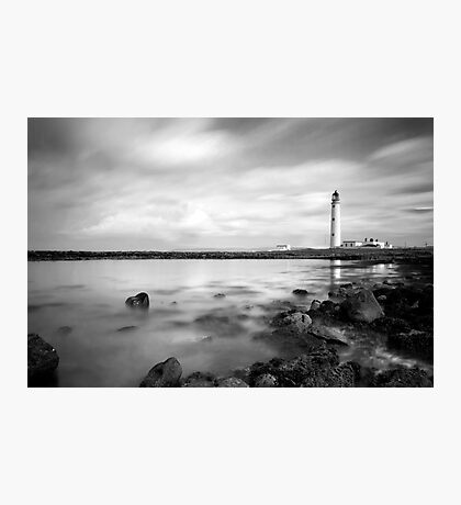 Moody Barns Ness Lighthouse Photographic Print