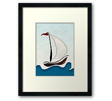 Sail Sunday Framed Print
