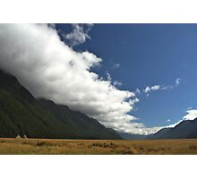 Inversion Layer in New Zealand Photographic Print