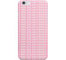 1-800-DYLAN O'BRIEN - HOTLINE BLING iPhone Case/Skin