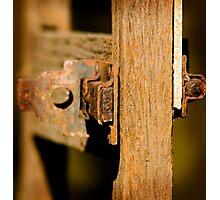 Door Latch! Photographic Print