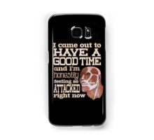 Attack on Titan - Feeling so Attacked Samsung Galaxy Case/Skin