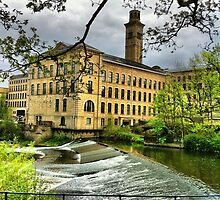 Salts Mill by Jason Feather