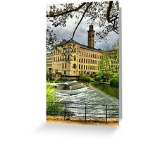 Salts Mill Greeting Card